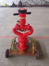 供应资质证件齐全国标PSY30-50型移动式手动消防水炮图片