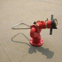 供应资质证件齐全国标PS30-50型手动消防水炮固定式消防水炮防冻自泄消防炮图片