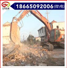挖掘機械配件液壓粉碎鉗拆遷破拆鉗樁工屬具東奕機械圖片