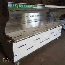 北京匯奇大型不銹鋼燒烤車無煙燒烤車原裝現貨圖片