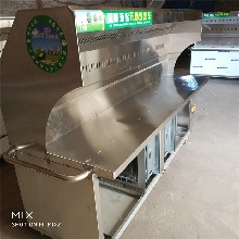 政润环保油烟净化烧烤车商用烧烤炉不锈钢价格实惠图片