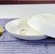 唐山北都陶瓷批发骨瓷餐具盘子骨瓷饭盘创意家用菜盘8寸陶瓷饭盘时尚饭盘