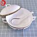 唐山唯奧陶瓷批發家用陶瓷簡約純白盤子陶瓷西餐盤骨瓷餐具碗盤碟套裝禮品定制