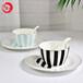 唐山唯奧陶瓷北歐骨瓷碗盤勺二人套裝簡約家用創意陶瓷餐具米飯碗