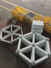六角型铝格栅吊顶优游注册平台程优游注册平台饰木纹铝格栅天花材料厂图片