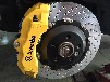 BREMBO18Z刹车卡钳套件适用于大众凯路威改装鲍鱼分泵
