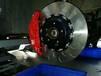 寶馬X3改裝剎車制動性能升級英國AP9560大六活塞卡鉗鮑魚分泵套件