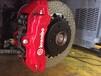宝马528改装刹车制动性能提升卡钳分泵BREMBO卡宴款18Z大六活塞卡钳套装