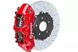 宝马X5升级意大利全原装带有质保卡升级BREMBOGT前六后四刹车鲍鱼分泵套件