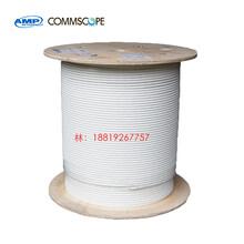 安普7類萬兆網線AMP4對8芯雙絞線安普FTP雙屏蔽線纜57893-3圖片