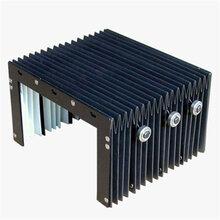 线轨防护罩风琴防护罩机床导轨防尘罩耐高温三防布防护罩图片