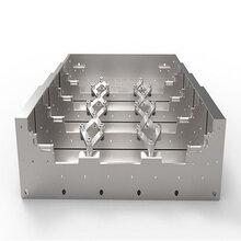钢板防护罩冷轧钢板防护罩导轨防护罩X轴钣金防护罩图片