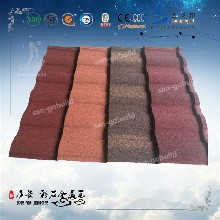 广西柳州彩石金属瓦厂家批发价图片