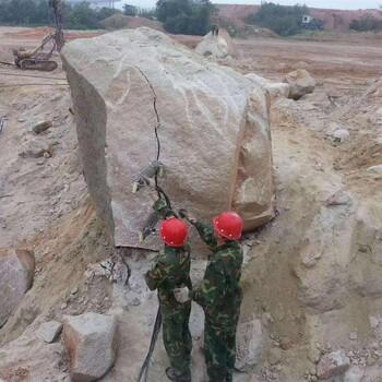 连云港液压岩石分裂机