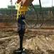 水坭桿挖坑機挖掘機帶小型螺旋鉆