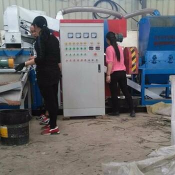 山東一套粉廢電線小型干式銅米機多少錢