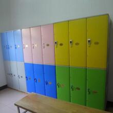 湖南彩色艷麗塑料組合儲物柜體育館澡堂abs寄存柜子圖片