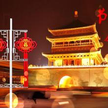 LED灯-LED古典中国结-陕西安康-西安禾雅照明-可定制-厂家直销图片
