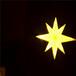 供应led造型灯-北极星-挂件装饰灯-城市亮化-八芒星黄色