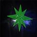 供应亮化照明-节日亮化-led挂件-造型灯-北极星-绿色