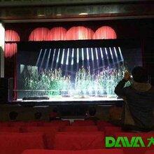 山西晋剧院高刷新率舞台LED屏点亮效果震撼