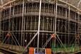 红星卢浮宫P3.91压铸铝室内高清LED显示屏项目全压铸铝箱体,易装卸