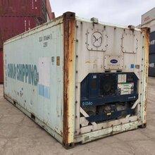 上海二手冷藏集装箱安装图片