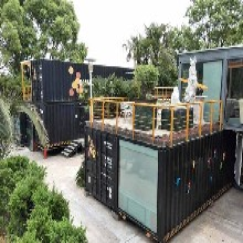 广州改装集装箱搭建租赁公司图片