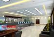 武汉网络机房效果图设计,监控中心设计