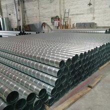 不锈钢管道螺旋风管广东工业生产车间废气处理