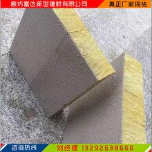 刑崃降噪竖丝岩棉复合板供应商图片