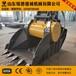 20吨挖掘机破碎斗颚式碎石机用于混凝土破碎铭德机械