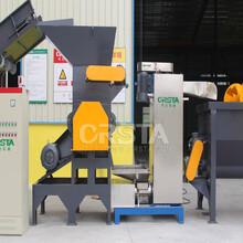 LDPE薄膜破碎清洗线-厂家直销-农膜地膜软质塑料回收再生加工处理整厂设备供应-柯达图片