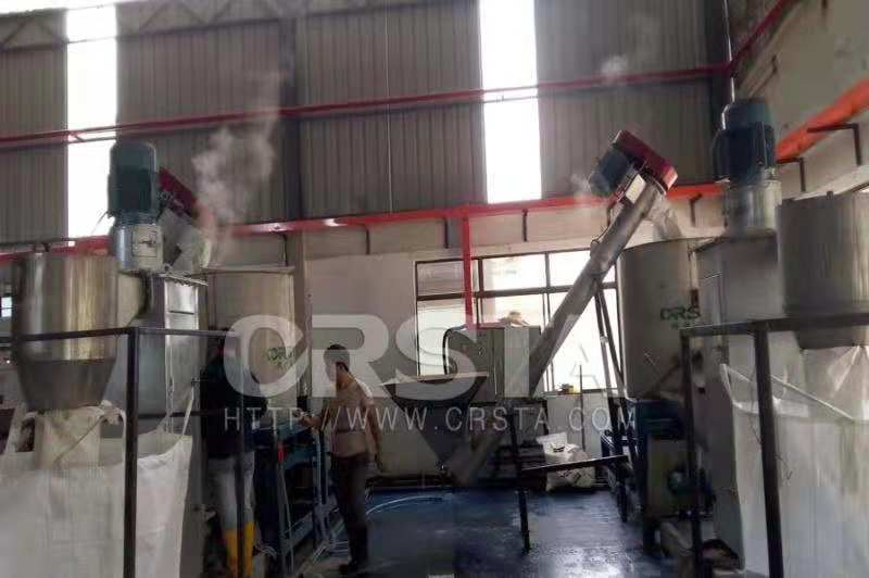 廣東廠供塑機GP150PC光盤破碎清洗線、清洗線廠家