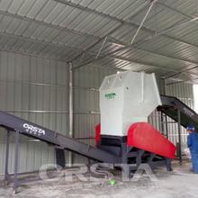 柯达机械出品ABS家电机壳处理生产线空调废料机壳清洗破碎线