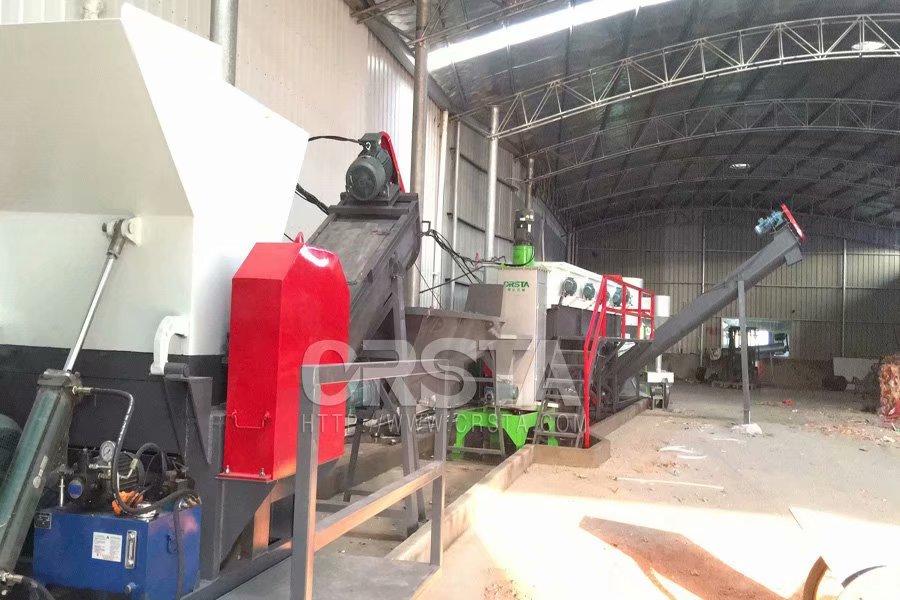 廠供YL150PP醫塑破碎清洗線、醫療輸液袋清洗線