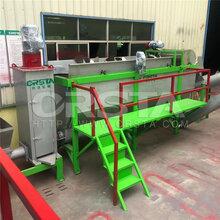 LDPE蘑菇膜废料清洗破碎设备/废旧农膜清洗处理机器