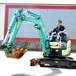 二手挖掘机交易市场,洋马17原装进口小型挖掘机