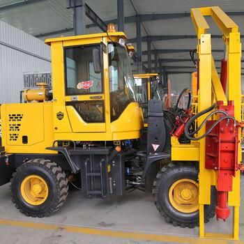 小型液壓打樁機,護欄打樁機規格