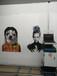 墻體3D彩繪打印高清背景墻噴繪黨建文化廣告戶外墻體繪畫機器設備