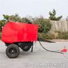 四轮带秸秆打包机80100型秸秆打包机牵引式小麦秸秆打包机