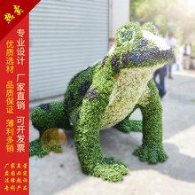 仿真绿雕青蛙王子动物造型青蛙雕塑绿植青蛙假青蛙摆件厂家