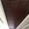 厂家直销铝方通吊顶尺寸订做U型方通木纹热转印铝方通