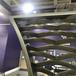 工厂订制拉网铝单板吊顶铝合金幕墙氟碳烤漆造型铝板
