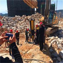 房地产地基开挖机低成本设备河南沁阳市图片