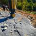 山東嘉祥土石方開挖分裂機哪家好