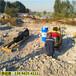石灰岩开采炮锤打不动岩石劈裂器新疆哈密-作业视频