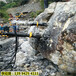 城市场地平整矿山裂石机破硬石头新疆昌吉-液压顶石柱