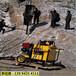 河南南阳矿山施工开采石头代替放炮的机器深度是多少