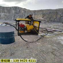 江西德興石頭太硬用液壓劈裂機安全破石圖片